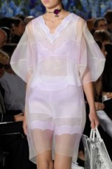 Dior details Spring/Summer 2016 PFW. runway trends ~ designer fashion ~ catwalk accessories ~ chic holiday outfits ~ luxe style ~ sheer fabrics
