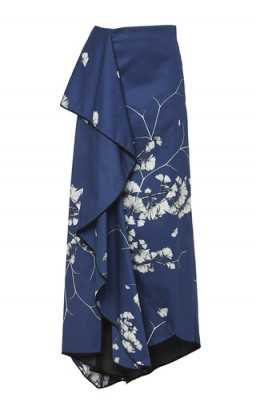 JOHANNA ORTIZ Cotton Floral Printed Mai Long Skirt