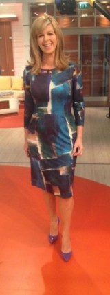 It's the lovely Kate Garraway wearing an Alie Street dress