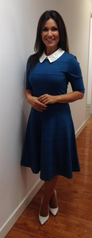 A cute looking Susanna Reid in an equally cute blue dress from Fee G Clothing!