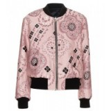 DRIES VAN NOTEN Reversible jacquard bomber jacket. Designer jackets | casual luxe | womens outerwear