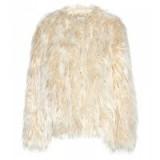 DRIES VAN NOTEN Faux fur jacket. Designer fashion | fluffy jackets | luxe style outerwear | winter coats
