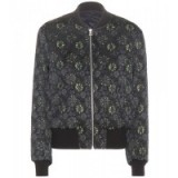 DRIES VAN NOTEN Reversible metallic jacquard bomber jacket. Designer fashion | floral jackets | casual luxe | womens outerwear