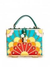 DOLCE & GABBANA Dolce hand-painted box bag – designer handbags – luxury bags