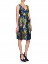 ERDEM Dora metallic floral-jacquard dress ~ designer clothes ~ luxury fashion ~ occasion dresses