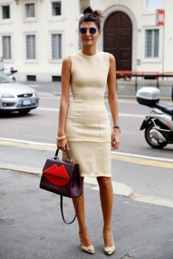 Giovanna Battaglia Street Style At Mfw Spring 2016 Stylish Women