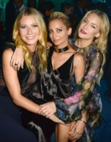 Gwyneth Paltrow, Nicole Richie & Kate Hudson attend La Mer event in Los Angeles, October 2015. Celebrity style | events