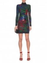 BALMAIN Hot Tropic crystal-embellished mini dress ~ designer clothes ~ evening dresses ~ occasion fashion