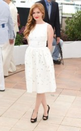 Isla Fisher in Dolce & Gabbana at Cannes 2013
