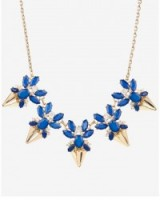 TED BAKER – ARNAH Jewelled arrow necklace ~ statement necklaces ~ jewel embellished fashion jewellery