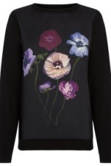 OASIS – photographic floral sweat. flower prints / printed sweatshirts / john grant photographer