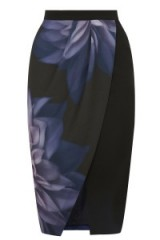 OASIS – photographic floral pencil skirt. flower prints / drape skirts / John Grant photographer