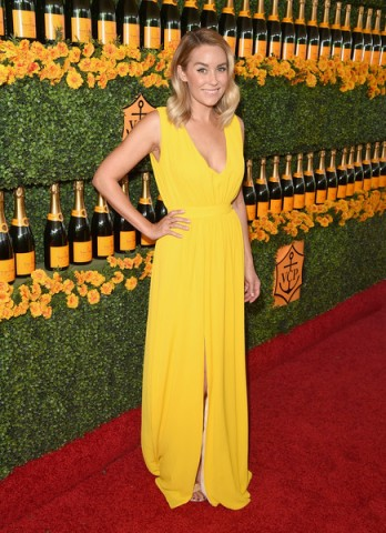 Lauren Conrad attends the Sixth-Annual Veuve Clicquot Polo Classic at Will Rogers State Historic Park on 17 October 2015, Pacific Palisades, California. Celebrity fashion | star style | celebrities at events