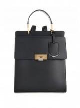 BALENCIAGA Le Dix leather backpack black. Designer backpacks / luxury bags