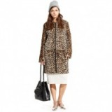 LOEFFLER RANDALL – SHAVED SHEARLING LONG COAT cheetah print. Winter coats | designer outerwear | luxury fashion | animal prints