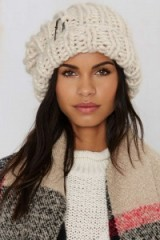 Milla Knit Beanie – Ivory. Womens hats | knitted beanies | winter accessories