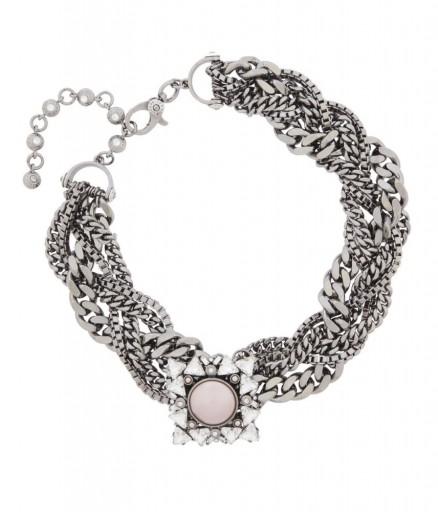 HENRI BENDEL – NOLITA BROOCH COLLAR. statement jewellery – Swarovski crystal collars – chunky necklaces
