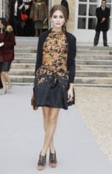 Olivia Palermo at Dior RTW Fall 2012 at Paris Fashion Week. Style icons – chic looks