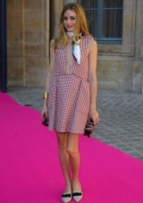 Olivia Palermo at Schiaparelli Fall 2015 pfw – style icon – chic outfits