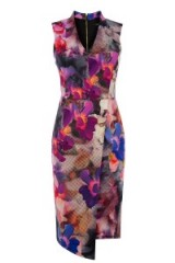 OASIS – photographic pencil dress. flower prints / printed dresses