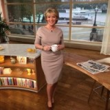 Ruth Langsford looking stylish in a Winser London Dress