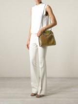 STELLA MCCARTNEY 'Falabella' metallic tote – metallic handbags – gold metallics