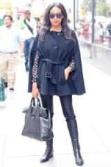 Street style chic. Womens capes – outfits with style
