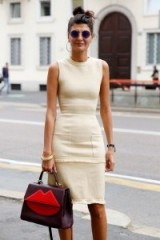 Effortless style…Giovanna Battaglia street style at MFW spring 2016 ~ stylish women ~ chic outfits ~ style icon ~ Milan Fashion Week