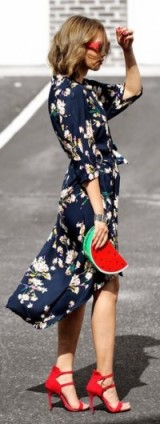perfect red accessories ~ street style chic