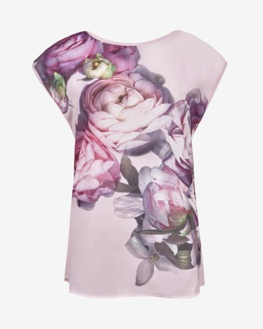 Ted baker saibel sunlit floral t shirt flower print for Ted baker floral print shirt