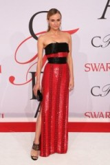 Diane Kruger in Prabal Gurung ~ style icons ~ celebrity gowns ~ women with style
