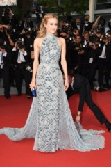 Diane Kruger in Prada ~ style icons ~ celebrity gowns ~ stylish women
