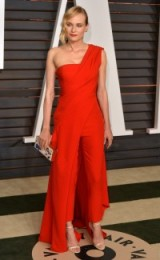 Diane Kruger in Donna Karan Atelier ~ women with style ~ celebrity outfits ~ stylish women