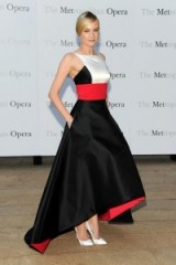 Diane Kruger in a Prabal Gurung gown ~ Celebrity gowns ~ style icons ~ women with style