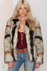 World Tour Faux Fur Coat. Womens winter coats – fluffy jackets