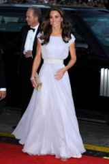 Catherine Duchess of Cambridge wearing a pleated pale lilac Alexander McQueen gown ~ Kate Middleton dresses ~ Kate's style ~ royal fashion ~ royalty