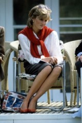Princess Diana at a polo match in May 1983. Diana's casual style ~ royal fashion ~ royalty ~ outfits