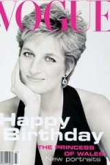 Princess Diana on the cover of Vogue July 1994 – photographer Patrick Demarchelier. Diana's style ~ royalty