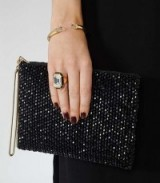 Reiss Athena crystal Swarovski ring ~ cocktail rings ~ glamorous jewellery ~ glam up your evening