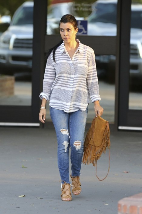 Kourtney Kardashian Casual Style