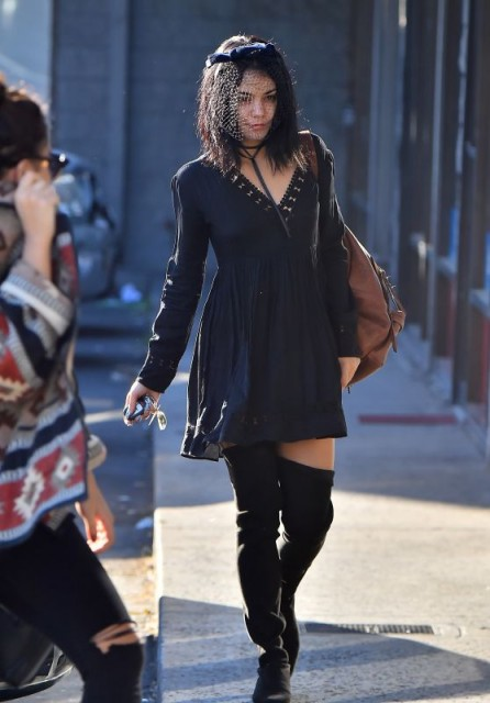 Vanessa Hudgens Street Style Out In Los Angeles October 2015 Cel