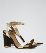 These Chacha block-heel sandals from Reiss.com are great and would really suit any evening outfit