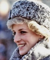 Princess Diana winter style ~ royal fashion ~ royalty ~ hats