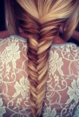 Fishtail braid – braided hair – hairstyles for longhair