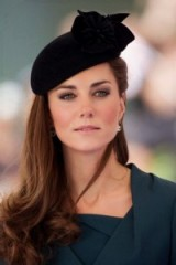 Catherine Duchess of Cambridge hair & make up ~ Kate Middleton royal beauty ~ royals ~ hats ~ Kate's style