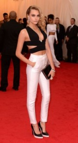 Cara Delevingne in Stella McCartney – Met Gala 2014