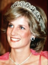 Princess Diana looking radiant wearing the Spencer tiara in Australia 1983