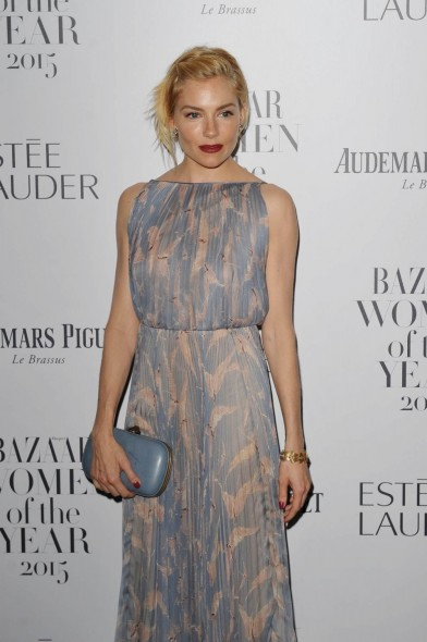 Sienna Miller in Valentino ~ Harper's Bazaar Women Of The Year Awards 2015