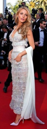 Glamorous Blake Lively at the 2014 Cannes Film Festival ~ Hollywood style glamour ~ Chanel gowns