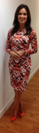 Love this dress and shoes that Susanna Reid is wearing. #thisiswhistles / DuneLondon.com